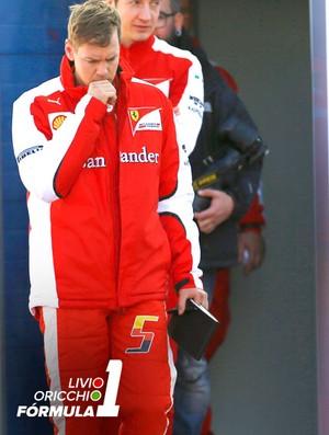 Carrossel Vettel Livio (Foto: Agência Reutes)