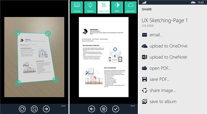 CamScanner é um aplicativo de digitalização de documentos para Windows Phone (Foto: Divulgação/Windows Phone Store)