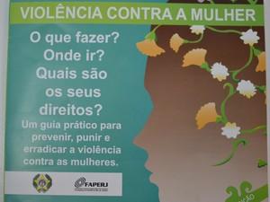 Cartilha da Polícia Civil sobre violência contra à mulher. (Foto: Reprodução/Cartilha Polícia Civil sobre Violência Contra à Mulher)