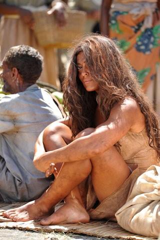 Juliana Paes grava as primeiras cenas de Gabriela (Foto: Estevam Avellar / TV Globo)