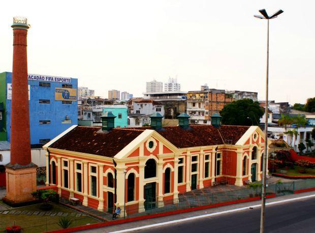 Teatro Chaminé AM (Foto: Tiago Melo / G1 AM)