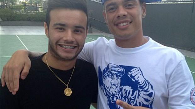 Bernardo e Thiaguinho Instagran (Foto: Reprodução / Instagram)