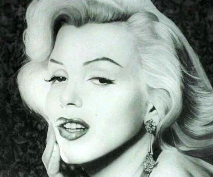 Marilyn Monroe Mistura com Rodaika Luis Paulo Inspiração (Foto: Divulgação/Luis Paulo)