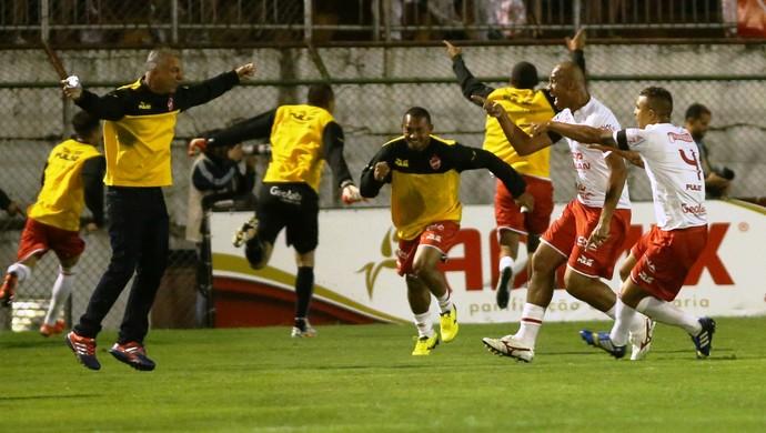 Vila Nova comemora acesso na Série C (Foto: Estadão Conteúdo)