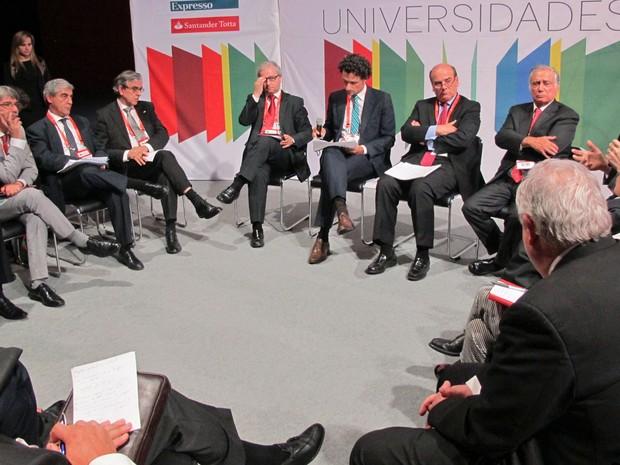 Reitores portugueses se reuniram para discutir o ensino superior durante o III Encontro Internacional de Reitores (Foto: Vanessa Fajardo/ G1)