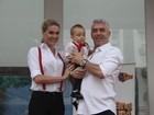 Filho de Ana Hickmann e Alexandre Correa completa 1 ano com festa em São Paulo