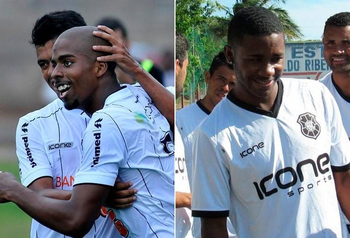 Hayner e João Paulo; Bahia; Rio Branco (Foto: GloboEsporte.com)