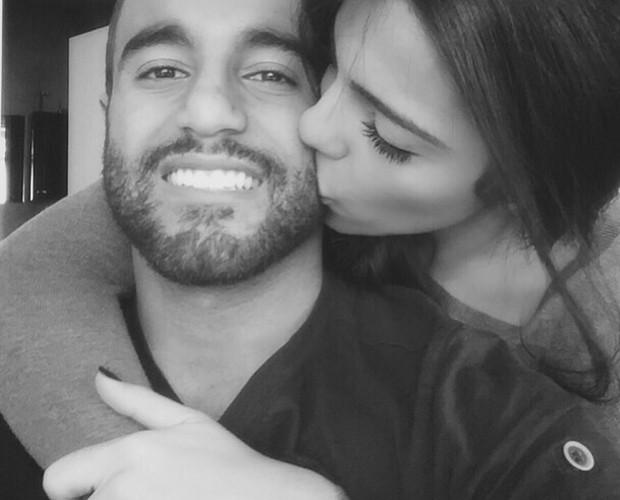 Lucas Moura e Larissa Saad estão juntos há 3 meses (Foto: Arquivo Pessoal)