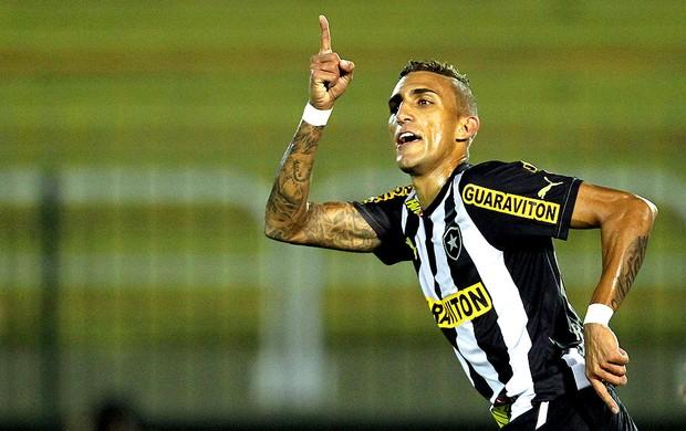 Rafael Marques gol Botafogo jogo Figueirense Copa do Brasil (Foto: Satiro Sodre / SSPress)