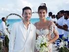 Di Ferrero mostra clique do casamento com Isabeli Fontana: 'Dia abençoado'