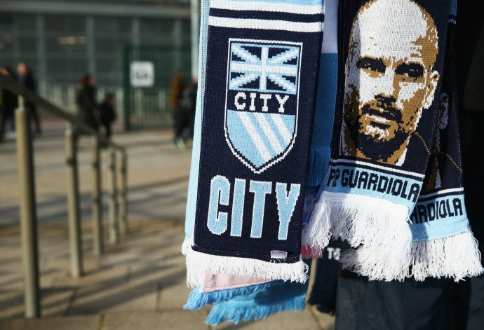 Cachecol Pep Guardiola Manchester City