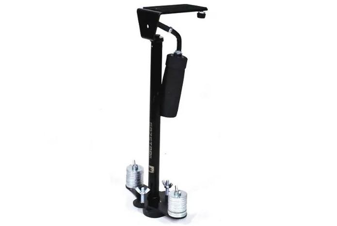 Gaz Stabil pesa apenas 380g e é capaz de sustentar câmeras de até 1,6 kg (Foto: Divulgação/Gaz Equipamentos)