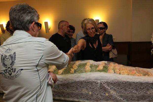 Velório de Barbara Heliodora (Foto: Marcello Sá Barretto/AgNews)