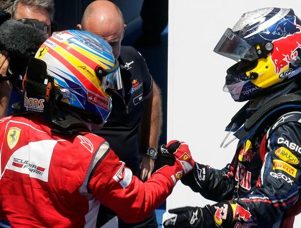 Alonso Vettel GP de Valência (Foto: Reuters)