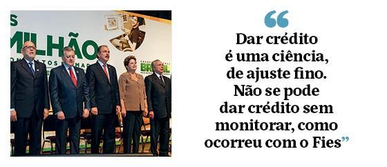 """Ricardo Paes de Barros: """"Dar crédito é uma ciência, de ajuste fino. Não se pode dar crédito sem monitorar, como ocorreu com o Fies"""" (Foto: Antônio Gaudério/Folhapress)"""