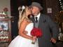 Vivi Fernandez, ex-atriz pornô, se casa em São Paulo