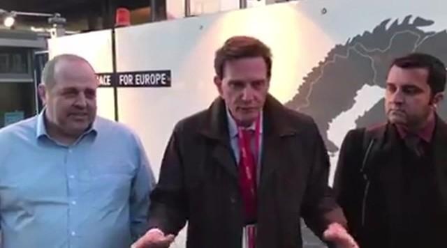 Vídeo de Crivella sobre carnaval na Europa sai do ar