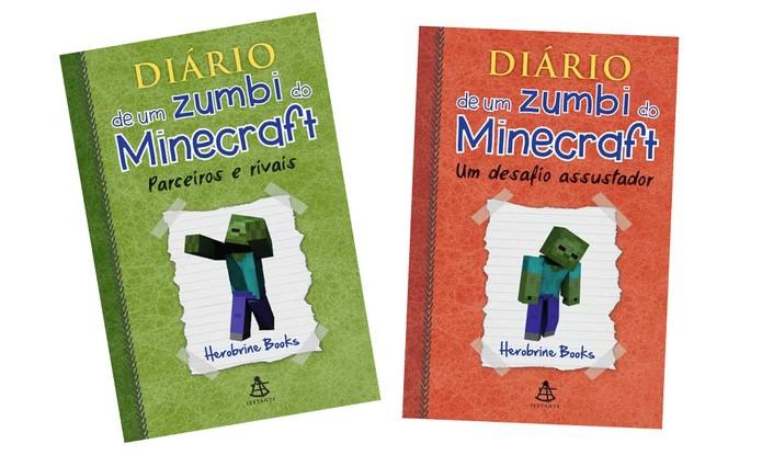 Diário de Um Zumbi do Minecraft faz sucesso entre os jovens (Foto: Divulgação/Sextante)
