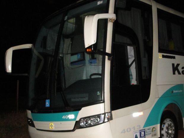Ônibus, com cerca de 20 passageiros, seguia para Foz do Iguaçu  (Foto: Divulgação/ Negrini)