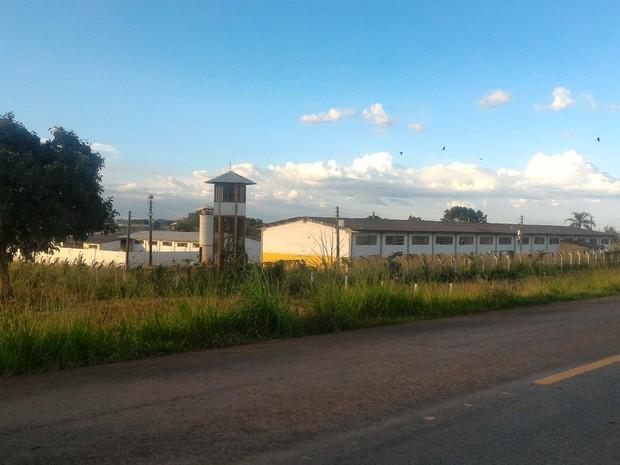 Complexo Prisional de Segurança em Goiânia, Goiás (Foto: Vanessa Martins/G1)
