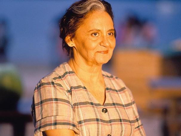 Laura Cardoso no remake da novela 'Mulheres de Areia', em 1993 (Foto: TV Globo)