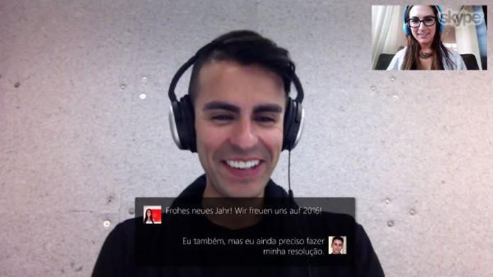 Tradutor simultâneo do Skype está disponível para todos (Foto: Divulgação)