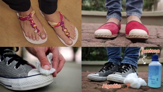 Customize, limpe, impermeabilize: veja as dicas e saiba o que funciona com sapatos