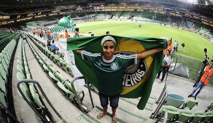 Arena Palmeiras, Palmeiras x Nacional Libertadores 2016 (Foto: Marcos Riboli)