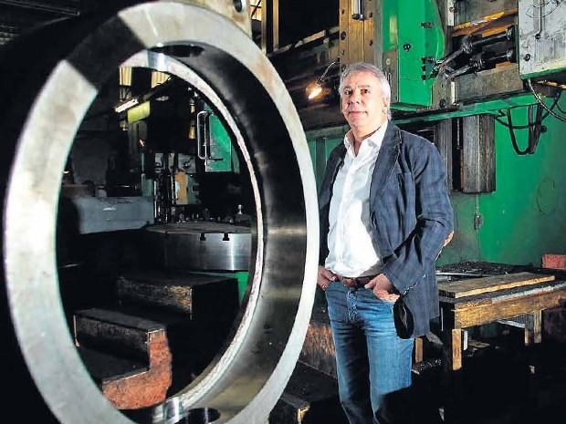 Pedro Lúcio, proprietários da indústria RTS Válvulas (Foto: Divulgação)