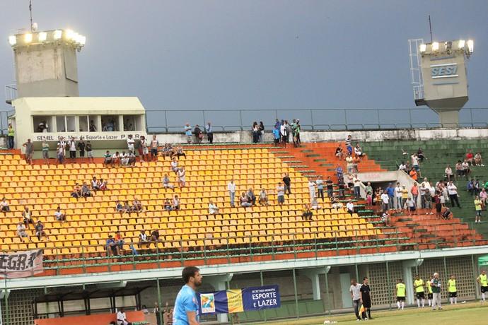 Estádio do Trabalhador (Foto: Vinícius Lima)