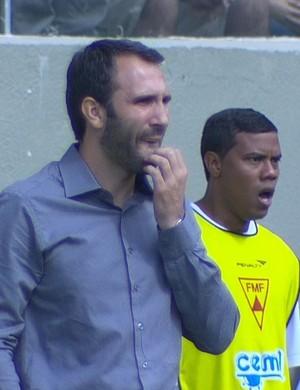 América-MG; Sérgio Vieira (Foto: Reprodução/Premiere)
