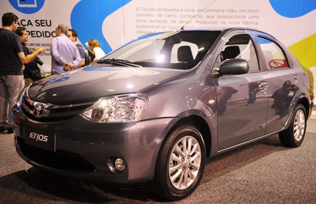 toyota etios (Foto: Raul Zito/ G1)