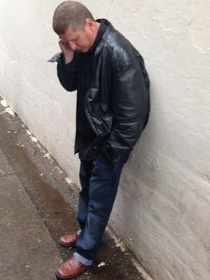 Ogival Nogueira, pai de Ewerton Nogueira, o vendedor morto do lado de fora de uma casa noturna. (Foto: Kléber Tomaz)