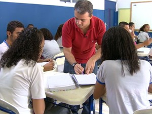 Prova avalia conhecimentos de alunos de 15 anos de idade a partir do 7º ano do ensino fundamental (Foto: TV Globo/Reprodução)