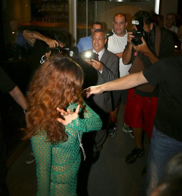 Rihanna (Foto: Gabriel Reis, André Freitas, Dilson Silva, Gabriel Rangel e Delson Silva / AgNews)