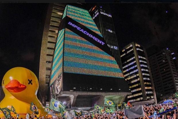 Prefeitura de SP proíbe Fiesp de expor bandeira do Brasil na Paulista