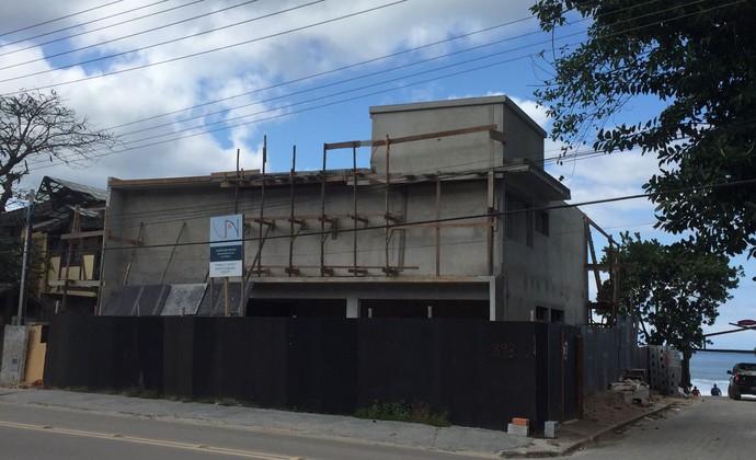 Instituto Gabriel Medina construção (Foto: Fábio Maradei/Divulgação)