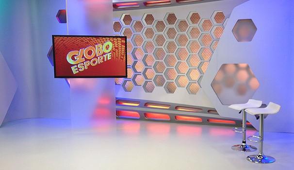 Novo estúdio GE  (Foto: Divulgação/ RPC TV)
