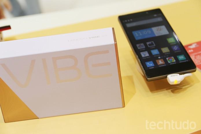 Lenovo anunciou novidades para a linha Vibe de smartphone (Foto: Fabrício Vitorino/TechTudo)