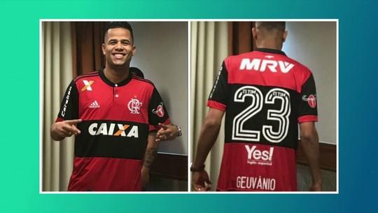 """Ricardo Rocha aprova Geuvânio como  reforço do Fla e diz: """"Lembra Rivaldo"""""""