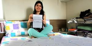 Jovem deixa semiárido para estudar e conquista nota máxima na redação (Gilcilene Araújo/G1)