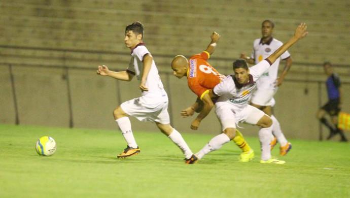Atlético Sorocaba x Ferroviária, pela Copa Paulista (Foto: Gilson Hanashiro / Ag. Bom Dia)