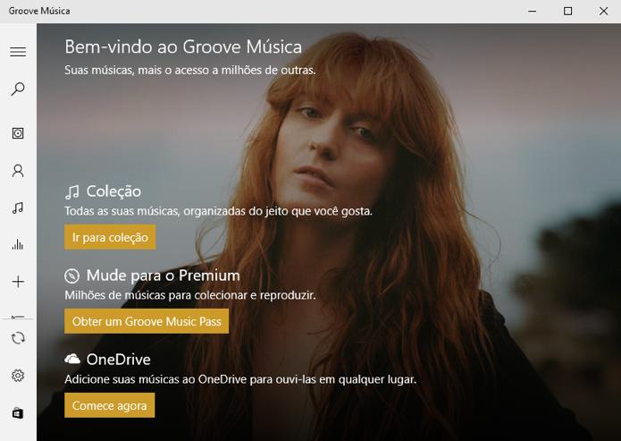 Groove vende assinaturas para fazer streaming (Foto: Reprodução/Paulo Alves)