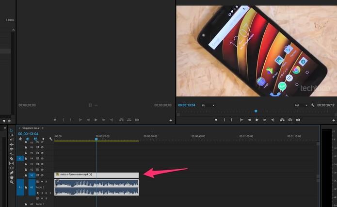 Como separar áudio do vídeo no Adobe Premiere Pro | Dicas