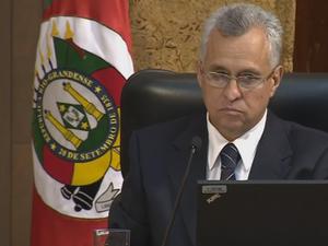 Marco Peixoto foi acusado de estelionato e deve assumir a presidência do TCE-RS (Foto: Reprodução/RBS TV)