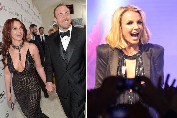 Britney Spears e David Lucado (Foto: Getty Images)