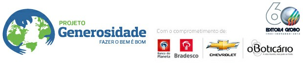 Projeto Generosidade 2012 (Foto: Editora Globo)