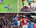 Após confusão com Ibra, defensor inglês é supenso por cinco jogos
