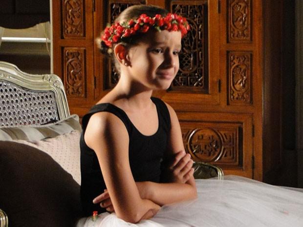 Kiria afirma chorar de verdade em cena (Foto: Salve Jorge/TV Globo)
