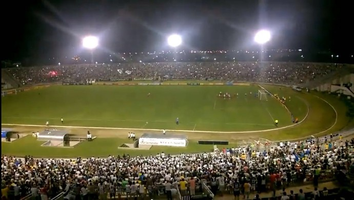 Estádio Almeidão, Botafogo-PB (Foto: Tiago Loureiro / CBN João Pessoa)
